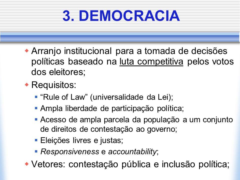 Sistemas de Governo Parlamentarismo: funções de Chefe de Governo e Chefe de Estado exercidas por indivíduos diferentes, com prevalência política do pr