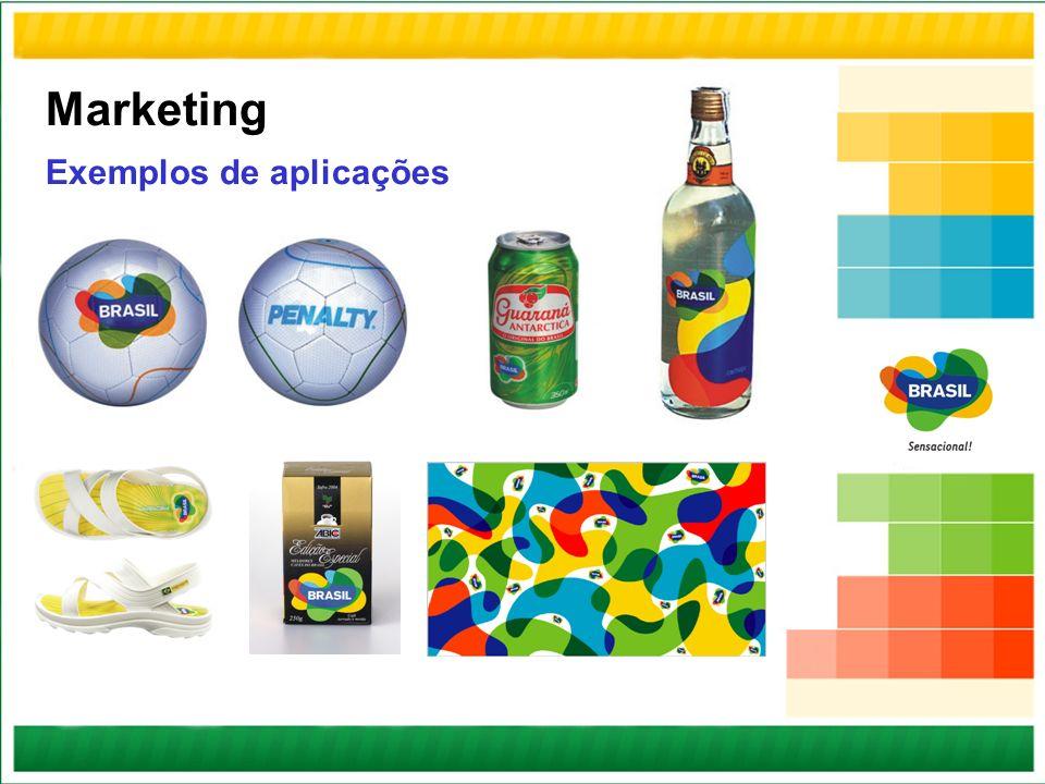 Marketing Exemplos de aplicações