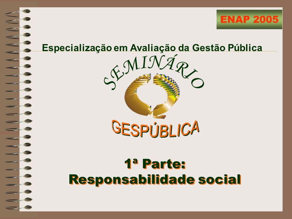Responsabilidade Social Como entender a responsabilidade social na gestão pública.