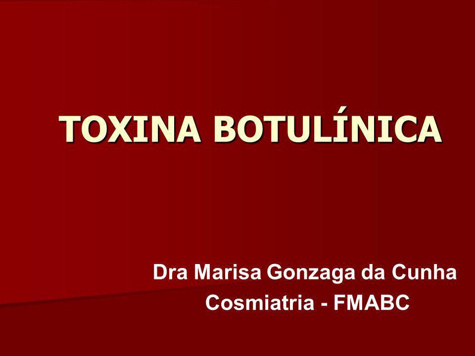 TOXINAS BOTULÍNICAS Apresentações comerciais BOTOX BOTOX DYSPORT DYSPORT PROSIGNE PROSIGNE