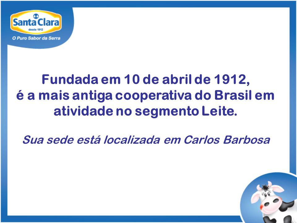 Fundada em 10 de abril de 1912, é a mais antiga cooperativa do Brasil em atividade no segmento Leite.