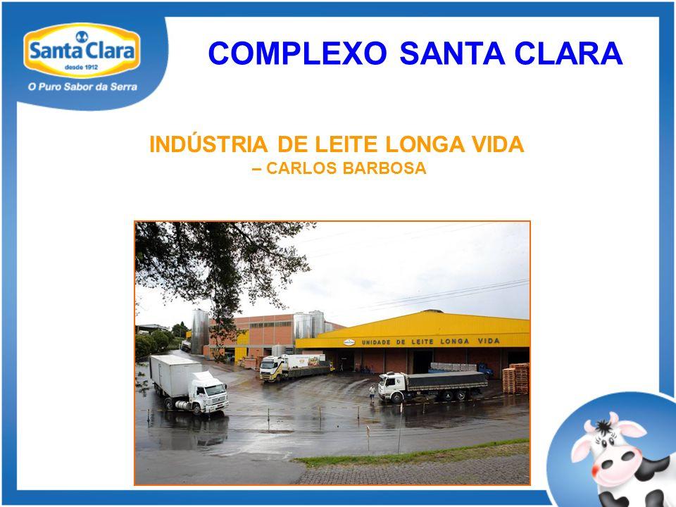 INDÚSTRIA DE LEITE LONGA VIDA – CARLOS BARBOSA COMPLEXO SANTA CLARA
