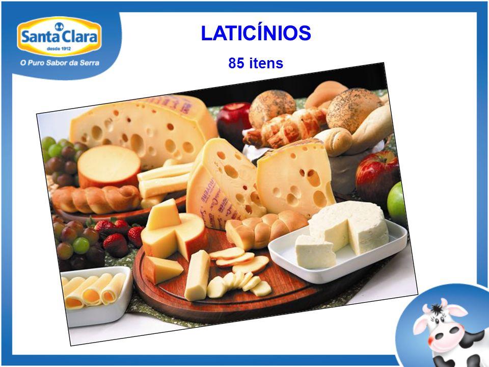 LATICÍNIOS 85 itens