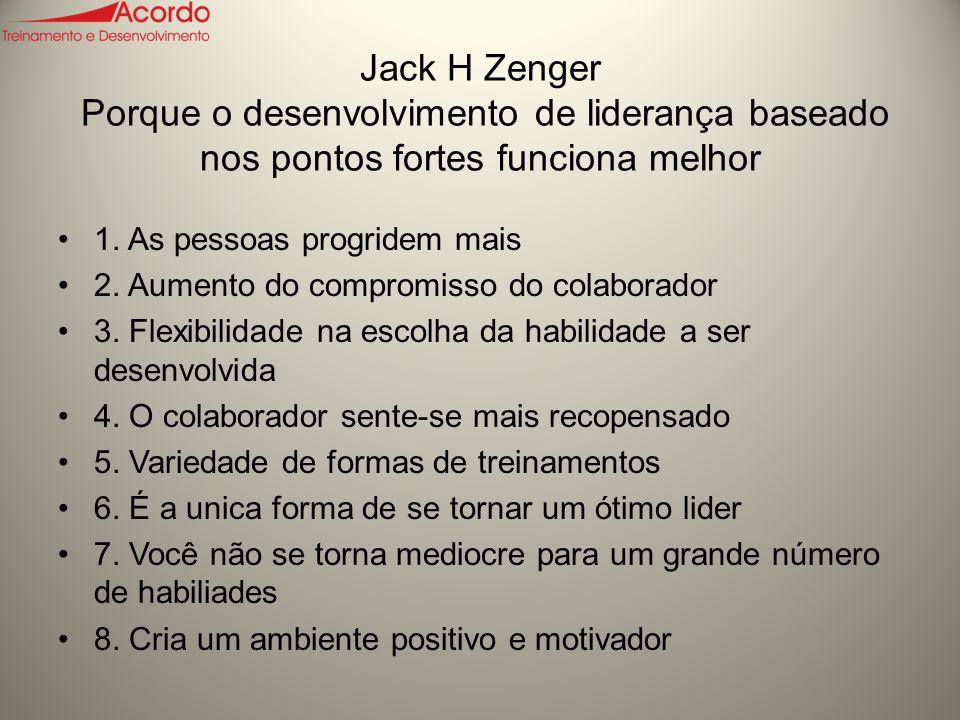 Jack H Zenger Porque o desenvolvimento de liderança baseado nos pontos fortes funciona melhor 1.