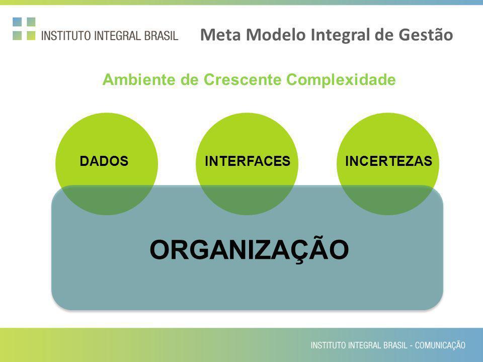 Meta Modelo Integral de Gestão Ambiente de Crescente Complexidade DADOSINTERFACESINCERTEZAS ORGANIZAÇÃO