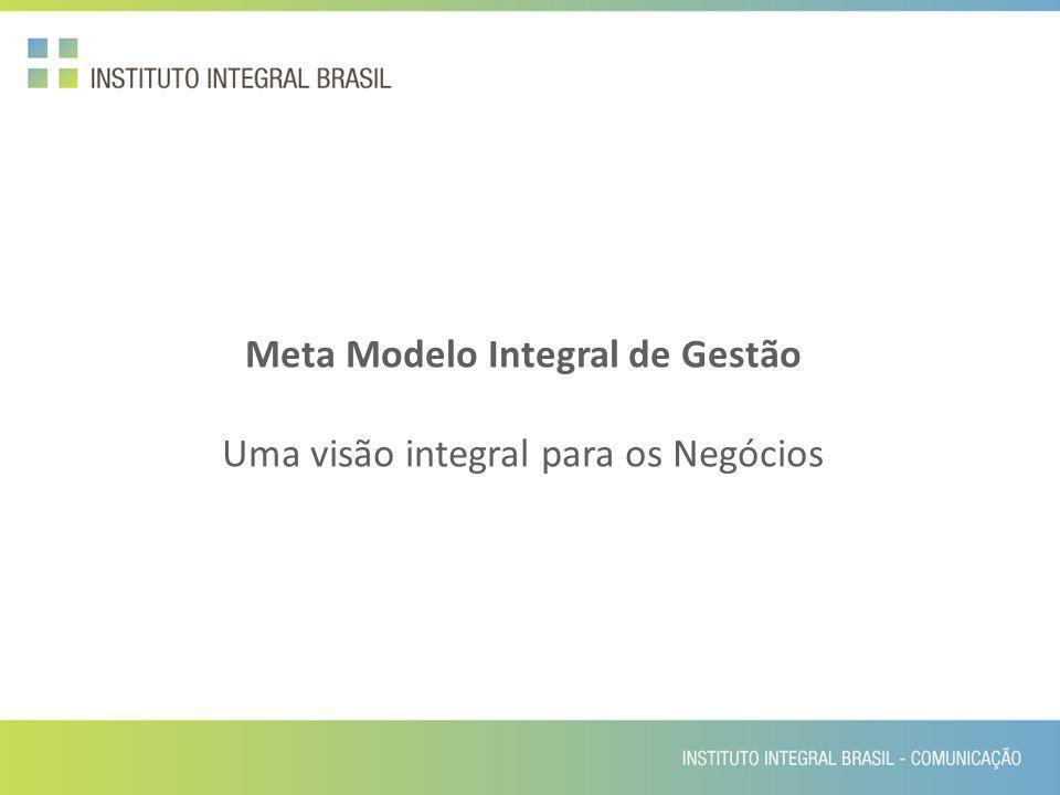 Meta Modelo Integral de Gestão Uma visão integral para os Negócios