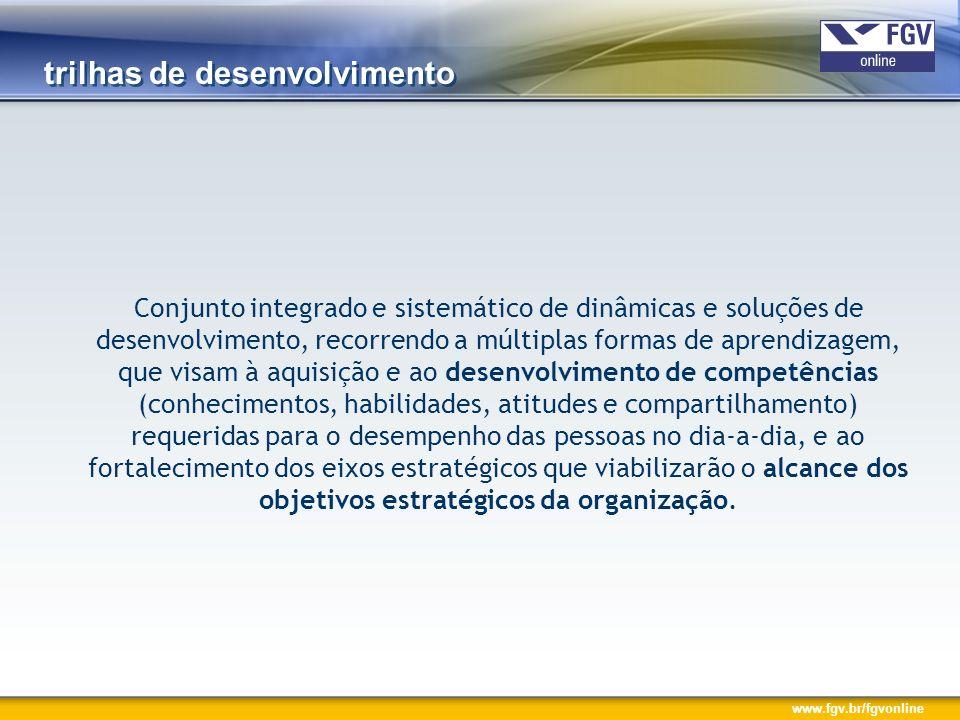 www.fgv.br/fgvonline dimensões da aprendizagem