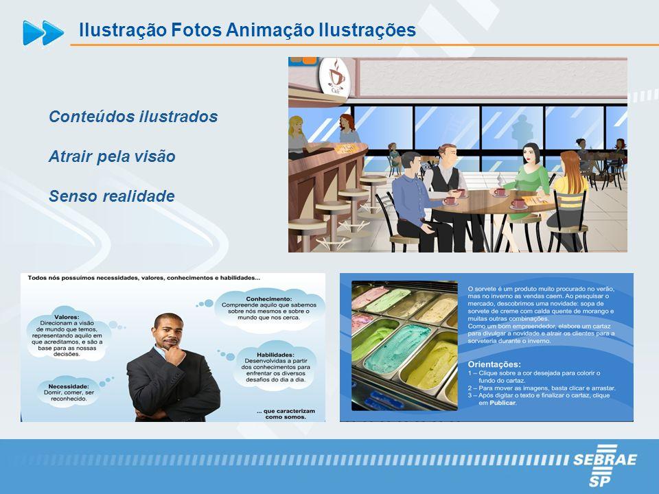 Ilustração Fotos Animação Ilustrações Conteúdos ilustrados Atrair pela visão Senso realidade
