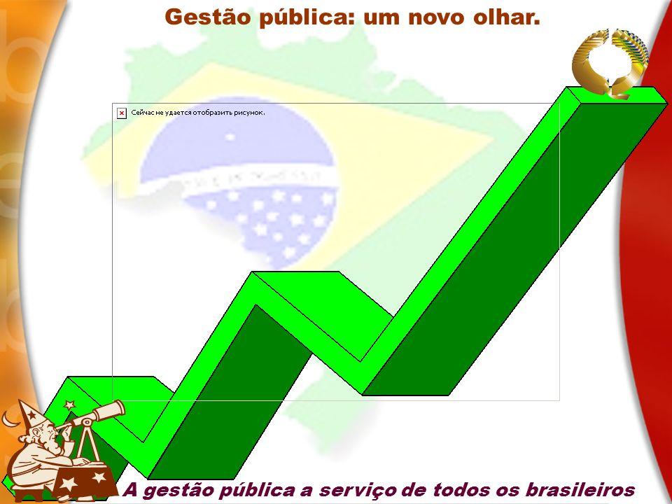 Gestão pública: um novo olhar. A gestão pública a serviço de todos os brasileiros