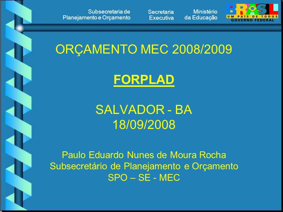 Ministério da Educação Secretaria Executiva Subsecretaria de Planejamento e Orçamento BENEFÍCIOS – ASSISTÊNCIA MÉDICA Recupera ç ão do valor per capta estabelecido pelo Executivo, mediante concessão de reajustes semestrais, de jan de 2008 a jan de 2010 – Of í cio-Circular Conjunto n º 5/SOF/SRH/MP: Jan de 2008..............R$ 50,00 Jul de 2008..............R$ 55,00 Jan de 2009..............R$ 60,00 Jul de 2009..............R$ 65,00 Jan de 2010..............R$ 72,00 Al é m da participa ç ão per capta do Governo Federal no custeio da sa ú de dos servidores, empregados e seus dependentes, serão assegurados, tamb é m, para fins de cumprimento do art.