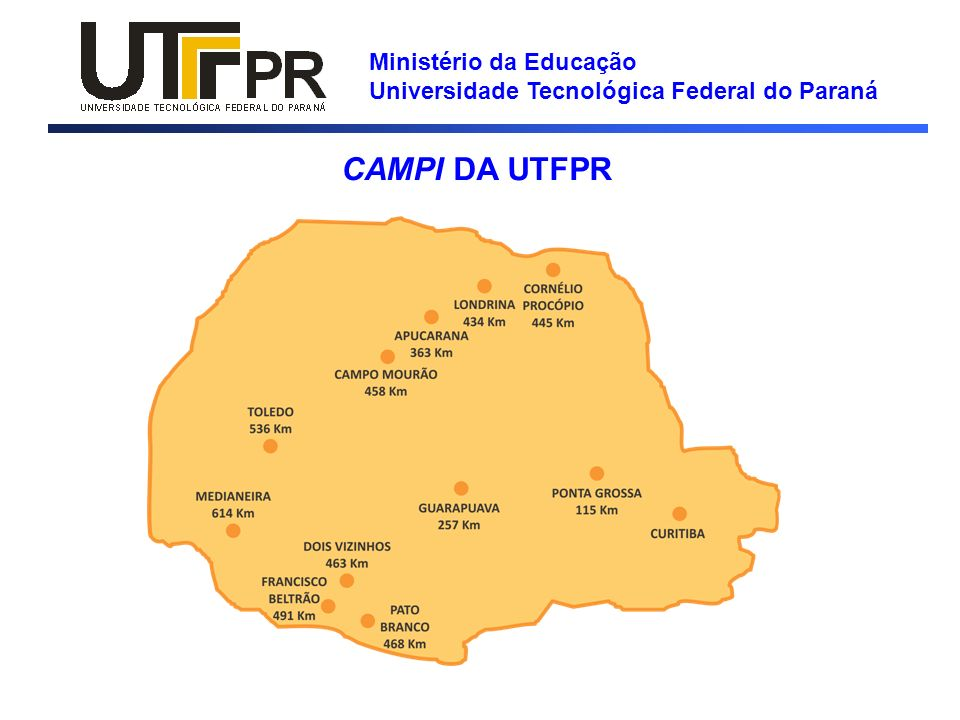 Ministério da Educação Universidade Tecnológica Federal do Paraná GESTÃO -Orçamento de custeio -Do orçamento total de custeio são provisionados recursos para programas sociais da UTFPR (bolsas dos programas: permanência, PIBIC e extensão), recursos para pagamento da rubrica de cursos/concursos, recursos para a manutenção da Reitoria (7,2%) e Fundo de Reserva (10%) -O saldo é rateado entre os campi.