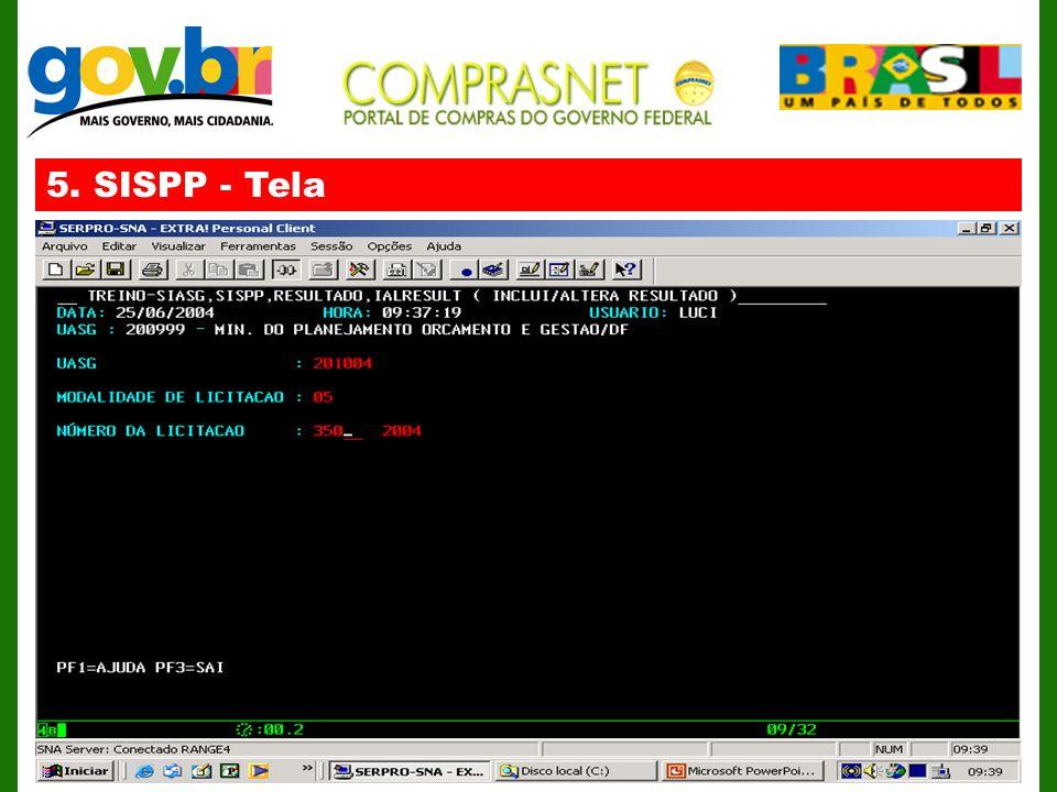 5. SISPP - Tela