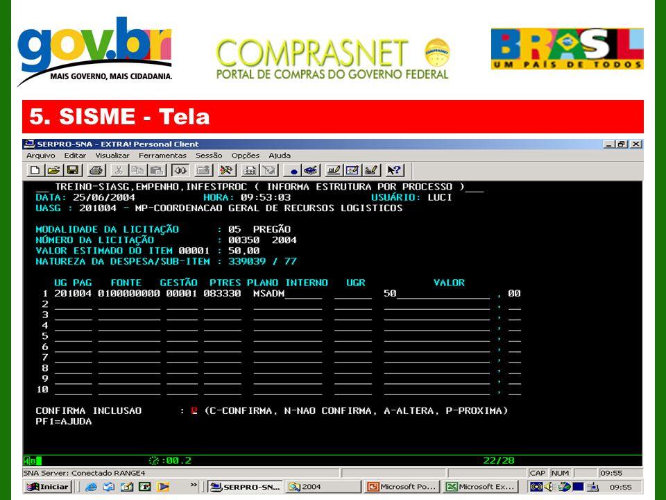 5. SISME - Tela