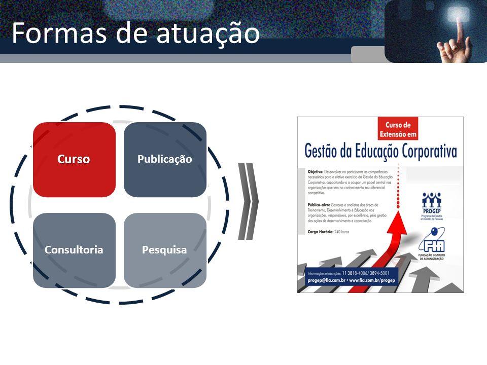 Curso de Extensão (240h) O Curso já formou 130 gestores de organizações, públicas e privadas, desde seu início em 2008.