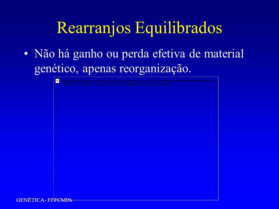 GENÉTICA - FFFCMPA 13 ALÇA DE INVERSÃO PARACÊNTRICA