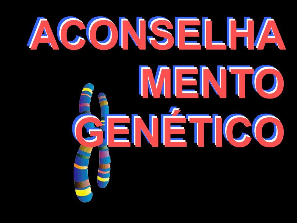 ACONSELHA MENTO GENÉTICO