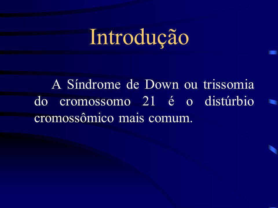 Síndrome de Down Maycow A. Patrício Rafael Moreno F. de Araújo Rafael Oppermann Rafael T. Cardoso Roberto T. SantAnna Vinícius S. S. Oliveira