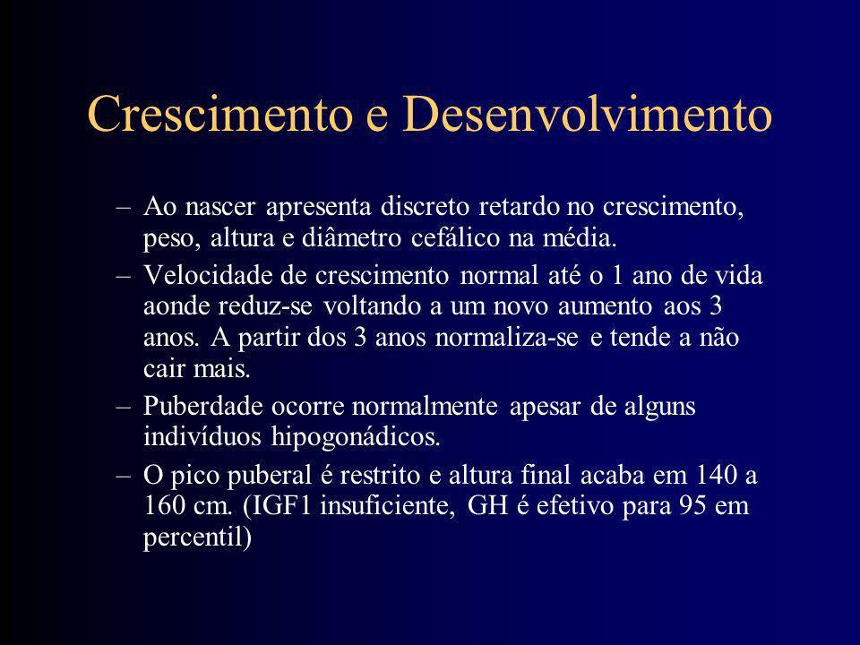 Aspectos do mosaicismo do cromossomo 21 –Mosaicismo –relação entre linhagens diploidiais e aneuploidiais –detecção difícil que em alguns casos pede av