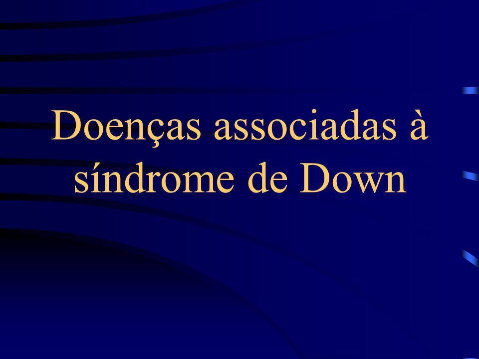Instabilidade e Subluxação Atlanto-Axial A subluxação é uma importante complicação da síndrome que se caracteriza por fragilidade e alterações de orde