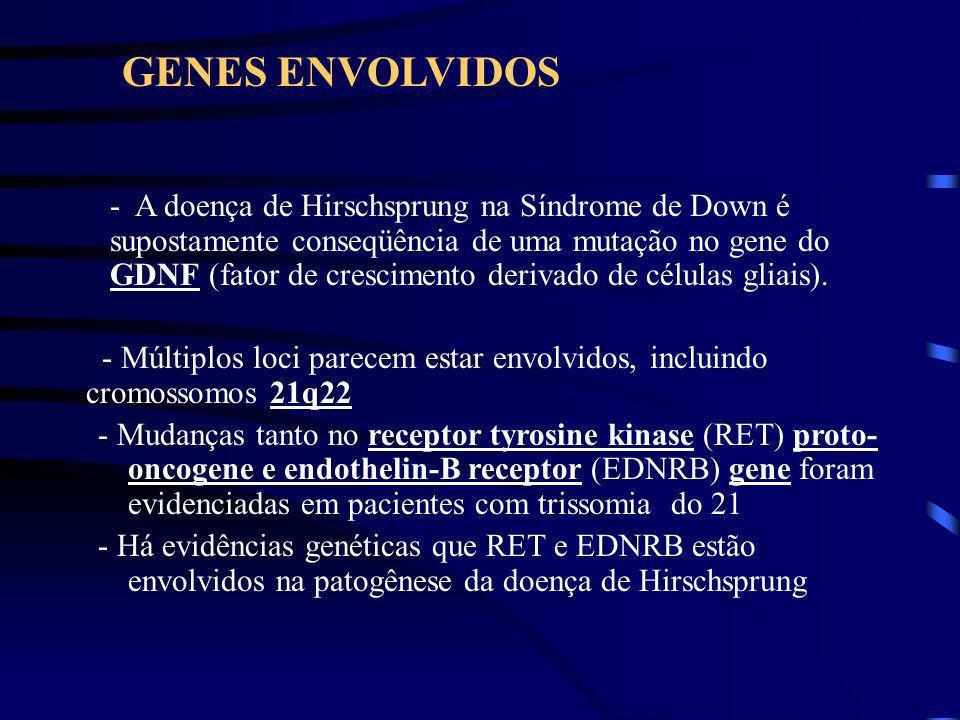 Definição A doença de Hirschsprung ou megacólon aganglionar é uma doença congênita caracterizada pela ausência de gânglios entéricos em um segmento va