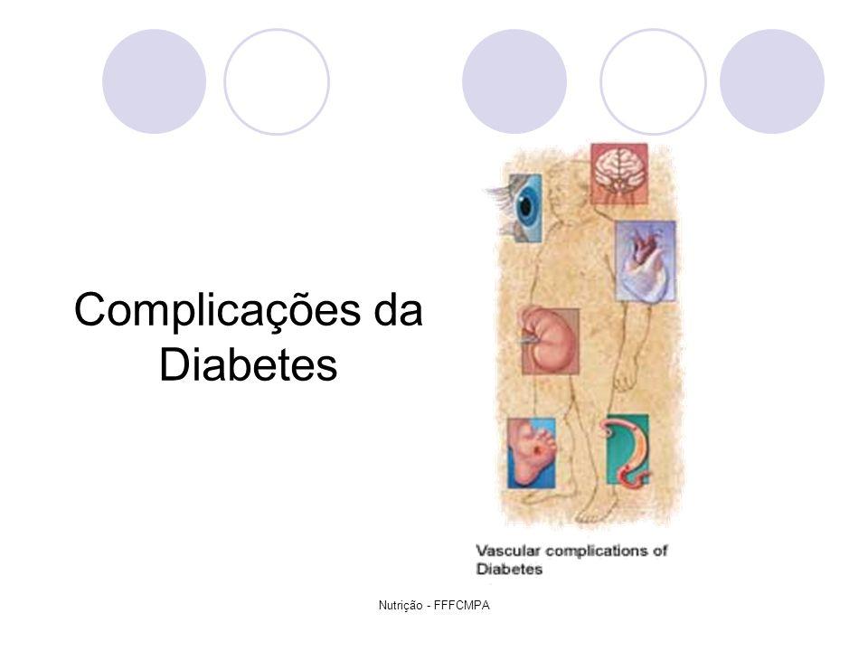 Nutrição - FFFCMPA Complicações da Diabetes