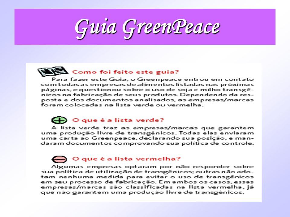 Guia GreenPeace