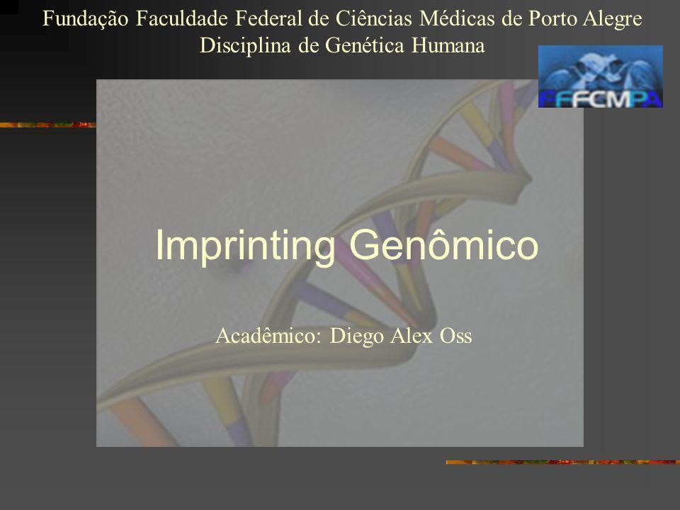 Imprinting Genômico Acadêmico: Diego Alex Oss Fundação Faculdade Federal de Ciências Médicas de Porto Alegre Disciplina de Genética Humana