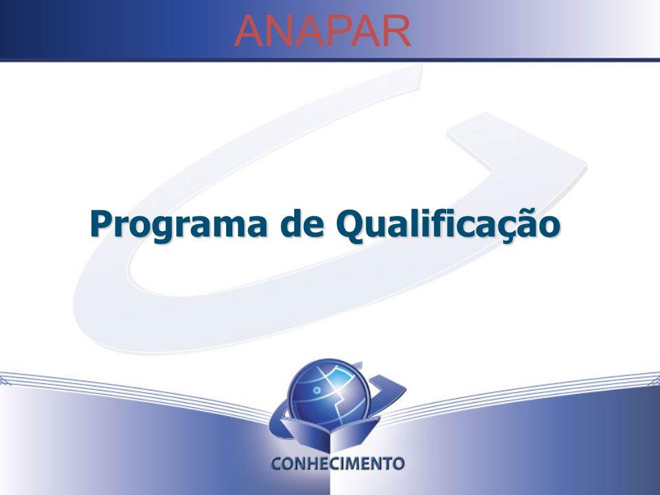 Programa de Qualificação ANAPAR