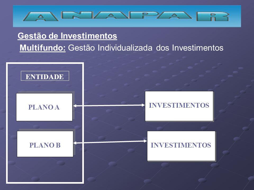 PLANO A PLANO B ENTIDADE INVESTIMENTOS Gestão de Investimentos Multifundo: Gestão Individualizada dos Investimentos