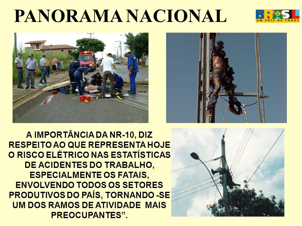 APOSENTADORIA ESPECIAL DESRESPEITO A LEI Acidente empreiteira distribuição energia elétrica – Brasil – Junho 2007