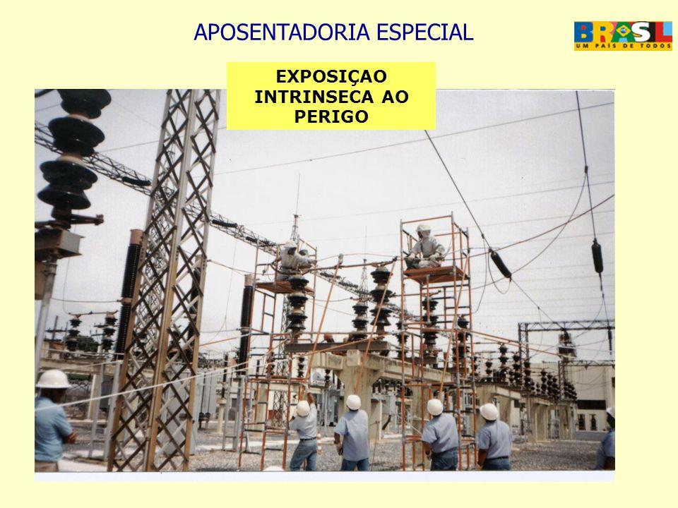 APOSENTADORIA ESPECIAL EXPOSIÇAO INTRINSECA AO PERIGO
