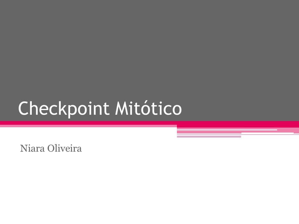 Checkpoint Mitótico Niara Oliveira