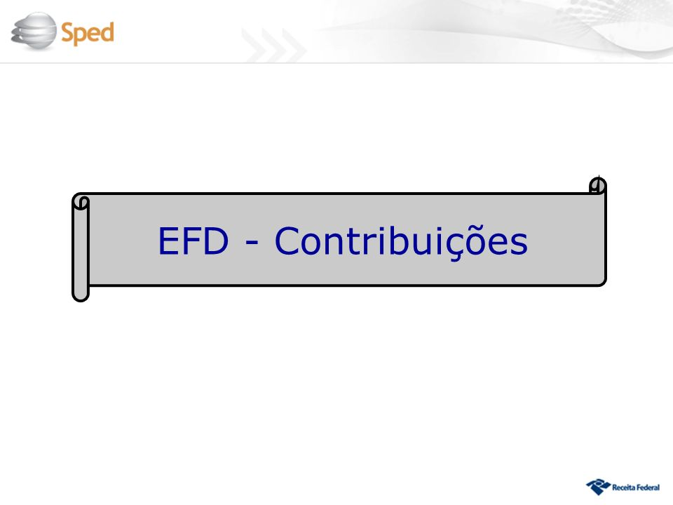 EFD - Contribuições