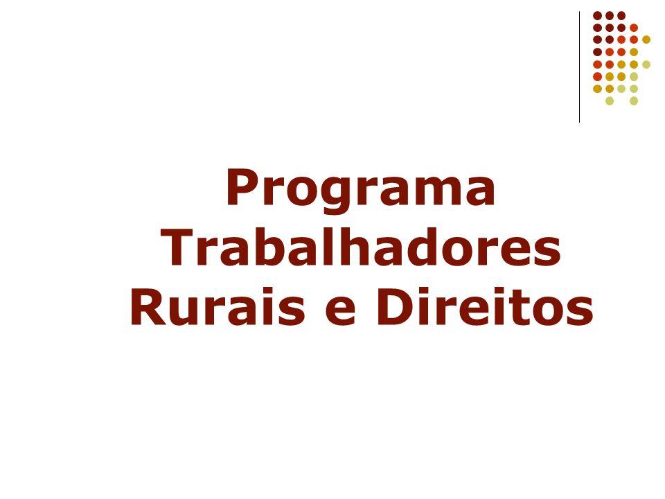 Programa Trabalhadores Rurais e Direitos
