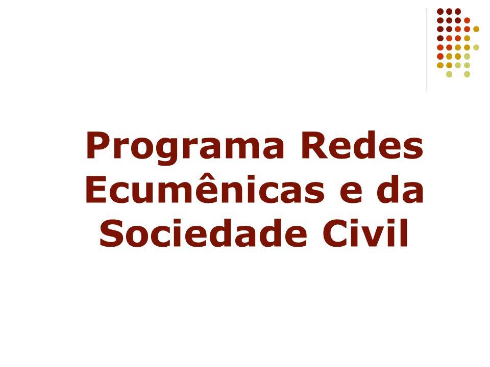 Programa Redes Ecumênicas e da Sociedade Civil