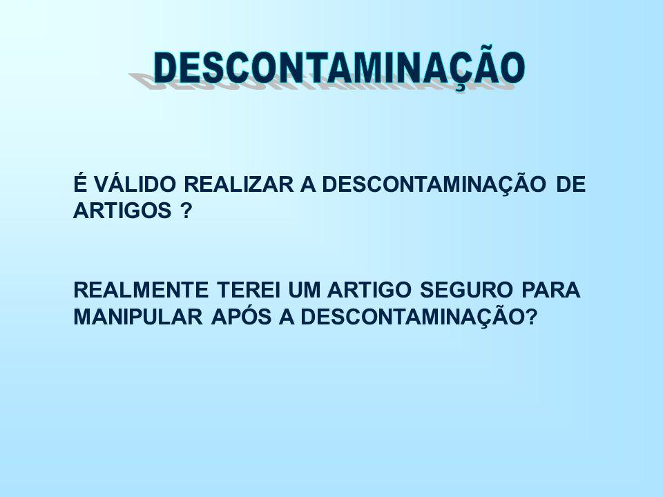 SOLUÇÕES SOFREM REDUÇÃO DE ATIVIDADE EM PRESENÇA DE MATÉRIA ORGÂNICA.