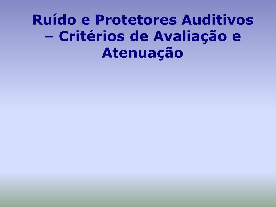 Proteção auditiva - dúvidas possíveis Qualquer protetor dá a mesma proteção.