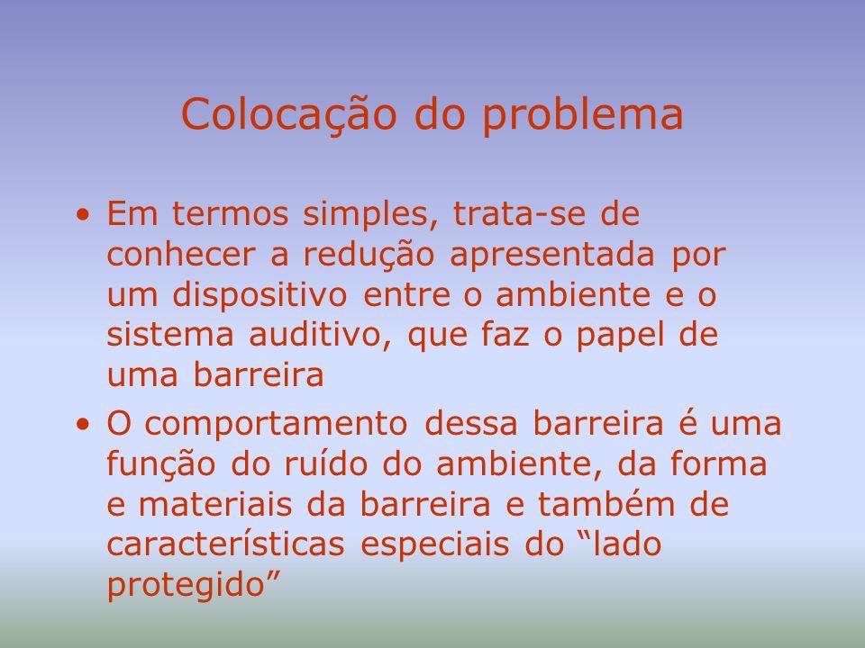 ...o problema O lado protegido NÃO TEM CARACTERÍSTICAS PADRÃO, NEM FIXAS NO TEMPO, É UMA PESSOA USA OUTROS OBJETOS QUE INTERFEREM COM A BARREIRA NÃO USA A BARREIRA DA FORMA PRECONIZADA (COLOCAÇÃO PADRÃO) NÃO USA A BARREIRA O TEMPO TODO Além disso, as características da barreira também variam com o tempo (degradação de propriedades)