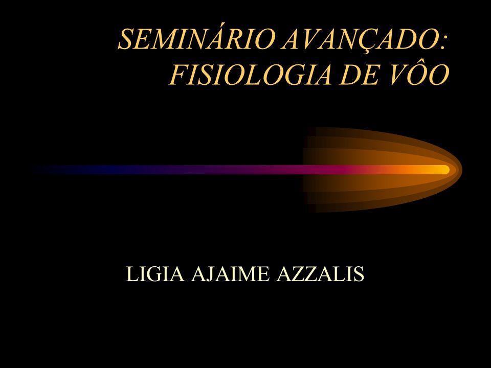 SEMINÁRIO AVANÇADO: FISIOLOGIA DE VÔO LIGIA AJAIME AZZALIS