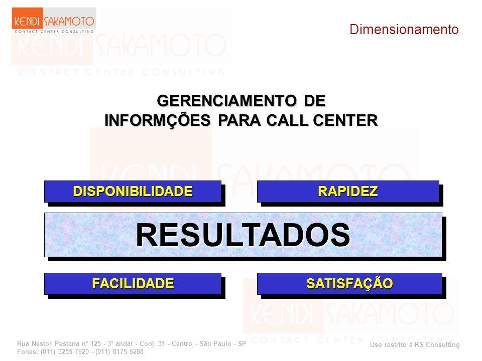 Uso restrito à KS Consulting Rua Nestor Pestana n° 125 - 3° andar - Conj. 31 - Centro - São Paulo - SP Fones: (011) 3255 7920 - (011) 8175 5288 GERENC