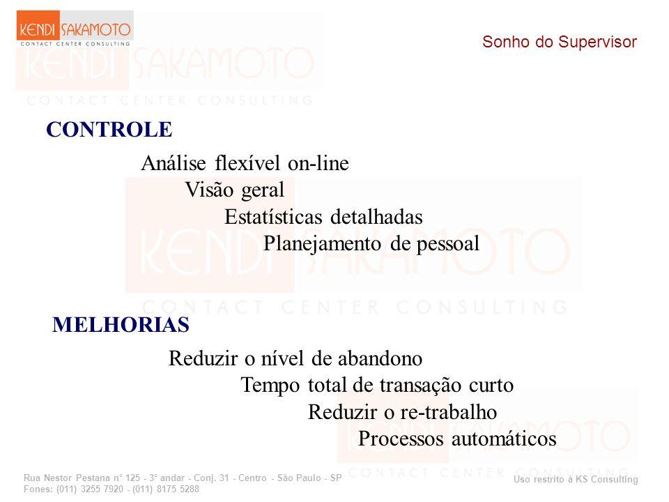 Uso restrito à KS Consulting Rua Nestor Pestana n° 125 - 3° andar - Conj. 31 - Centro - São Paulo - SP Fones: (011) 3255 7920 - (011) 8175 5288 Sonho