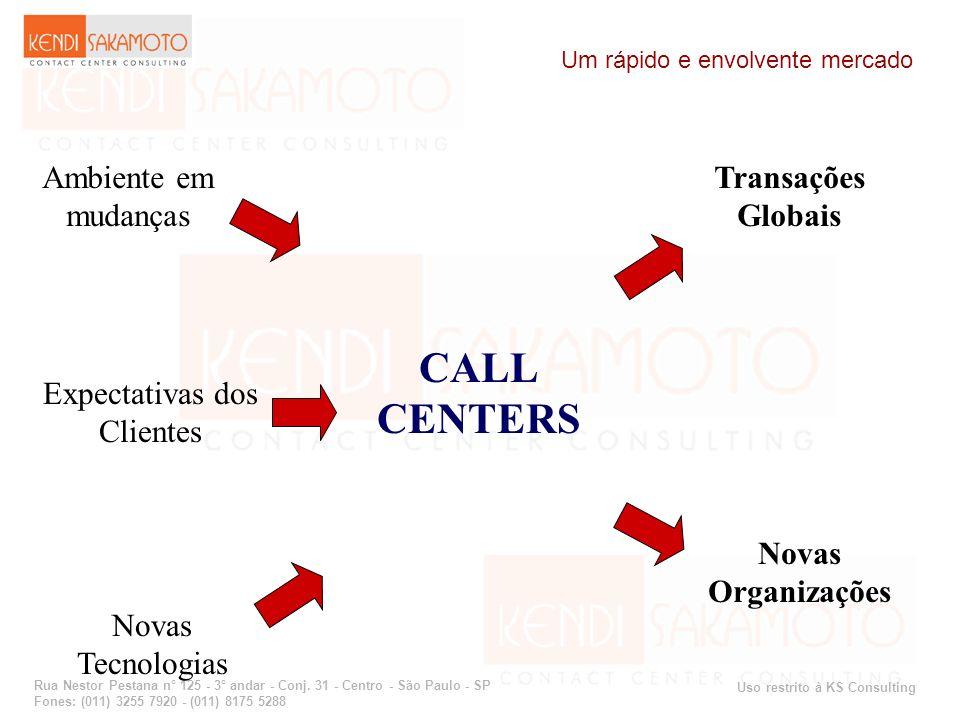 Uso restrito à KS Consulting Rua Nestor Pestana n° 125 - 3° andar - Conj. 31 - Centro - São Paulo - SP Fones: (011) 3255 7920 - (011) 8175 5288 CALL C