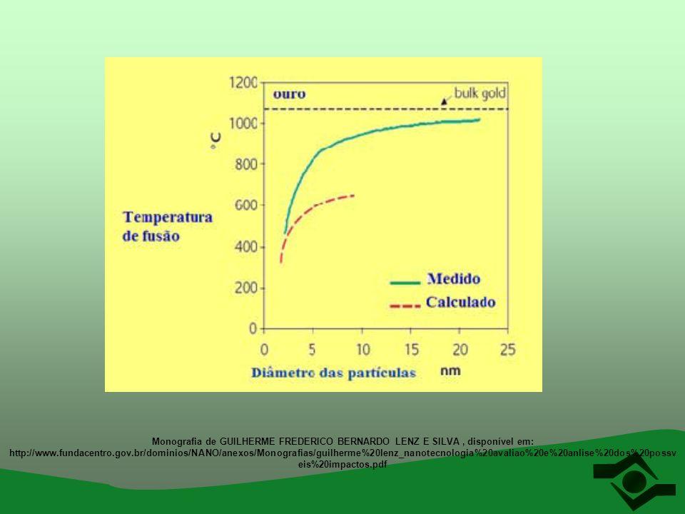 Monografia de GUILHERME FREDERICO BERNARDO LENZ E SILVA, disponível em: http://www.fundacentro.gov.br/dominios/NANO/anexos/Monografias/guilherme%20len