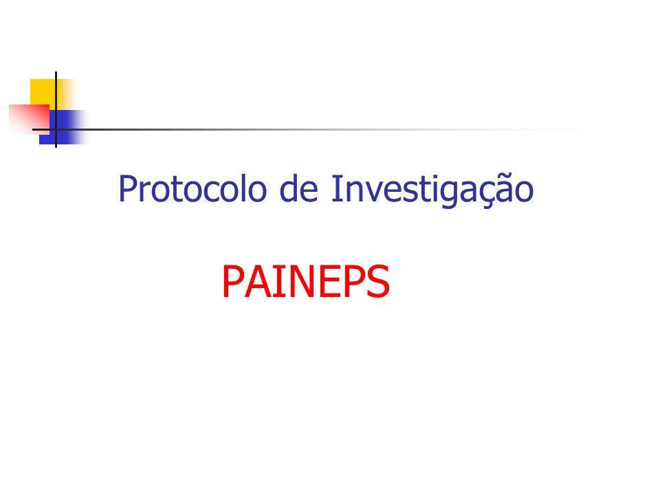 Protocolo de Investigação PAINEPS