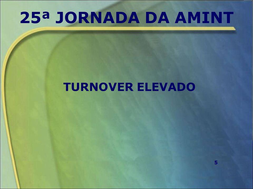25ª JORNADA DA AMINT TURNOVER ELEVADO 5