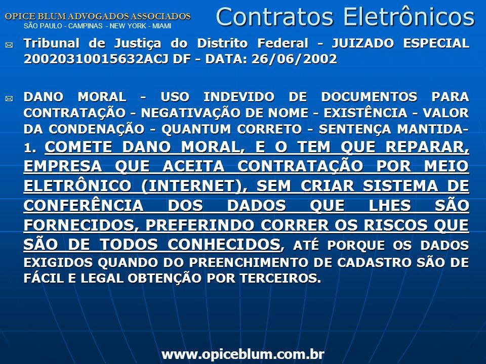 OPICE BLUM ADVOGADOS ASSOCIADOS OPICE BLUM ADVOGADOS ASSOCIADOS SÃO PAULO - CAMPINAS - NEW YORK - MIAMI www.opiceblum.com.brProva Art. 225. As reprodu