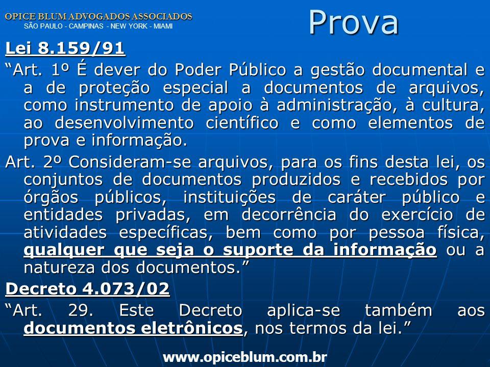 OPICE BLUM ADVOGADOS ASSOCIADOS OPICE BLUM ADVOGADOS ASSOCIADOS SÃO PAULO - CAMPINAS - NEW YORK - MIAMI www.opiceblum.com.brSegurança Circular SUSEP n