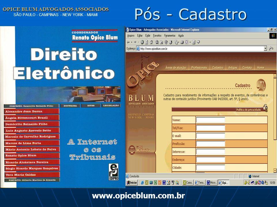 OPICE BLUM ADVOGADOS ASSOCIADOS OPICE BLUM ADVOGADOS ASSOCIADOS SÃO PAULO - CAMPINAS - NEW YORK - MIAMI www.opiceblum.com.brPrivacidade DK – HOSPITAL