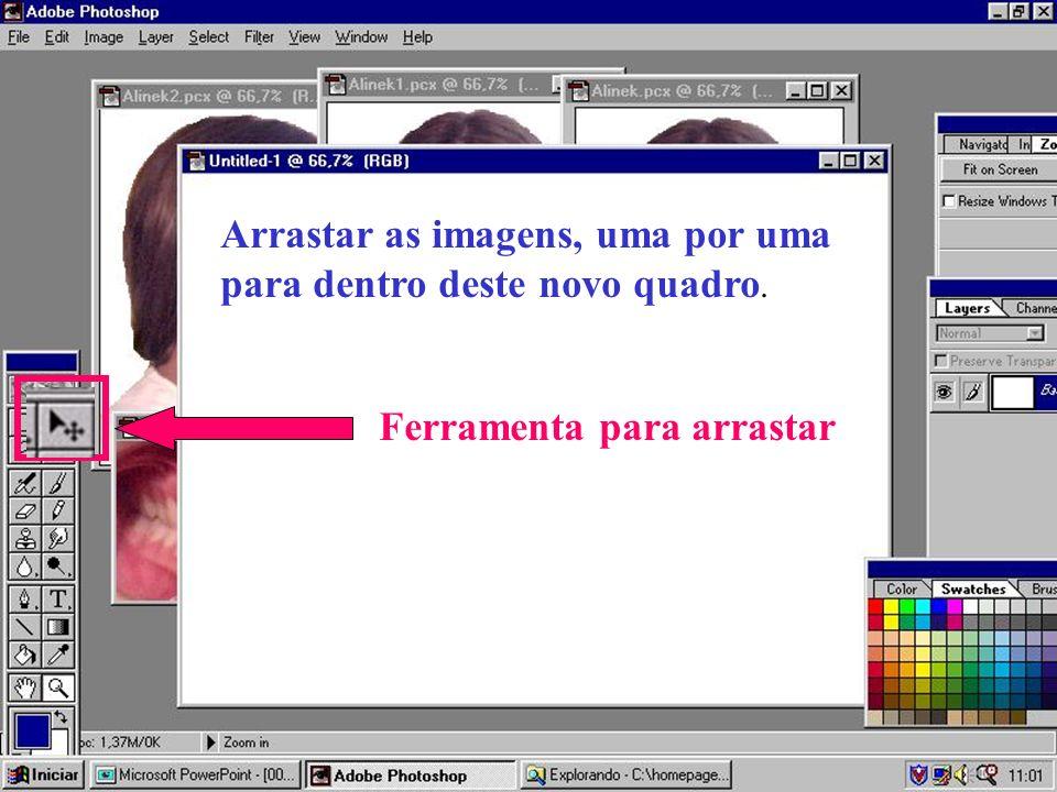 Sugestão do Departamento de Informática da Sociedade Paulista de Ortodontia Veja a sugestão Como agrupam-se imagens no Corel