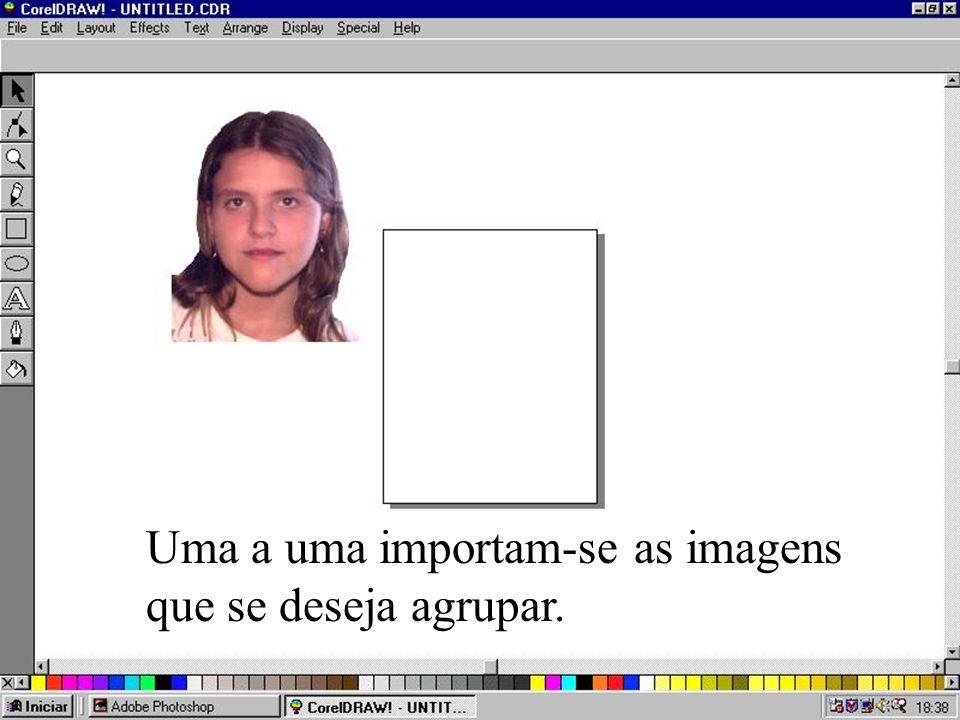 Sugestão do Departamento de Informática da Sociedade Paulista de Ortodontia Veja a sugestão Como agrupam-se imagens no Adobe